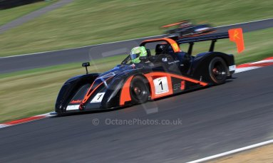 World © Carl Jones/Octane Photographic Ltd. Sunday 4th August 2013. OSS - Brands Hatch - Race 3. Darcy Smith - Radical SR4. Digital Ref : 0774cj7d0152