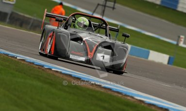World © Octane Photographic Ltd. BRSCC - OSS Championship. Sunday 15th September 2013. Donington Park. Sunday 15th September 2013 – Race 2. Darcy Smith – Radical SR4. Digital Ref: 0828cj1d7754
