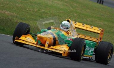 World © Octane Photographic Ltd/ Carl Jones. OSS F1 Demos. Snetterton. Benetton B193b ex-Ricardo Patresse and Michael Schumacher. Digital Ref:0719cj7d0171