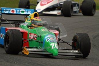 World © Octane Photographic Ltd/ Carl Jones. OSS F1 Demos. Snetterton. Benetton B190. Digital Ref: 0719cj7d0182