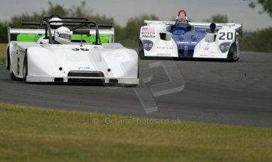 World © Octane Photographic Ltd/ Carl Jones. Saturday 8th June 2013. BRSCC OSS Championship - OSS Race 1. Rollo Tomasi / Kevin Clifford - Chevron B63. Digital Ref : 0715cj7d0048