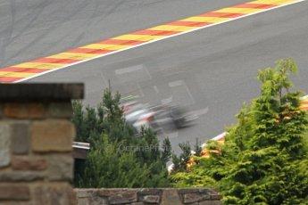 World © Octane Photographic Ltd. Belgian GP Friday 23rd August 2013 F1 Practice 1. Sauber C32 - Esteban Gutierrez. Digital Ref :  0784cb7d1886