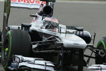 World © Octane Photographic Ltd. F1 Belgian GP - Spa - Francorchamps. Friday 23rd August 2013. Practice 1. Williams FW35 - Valtteri Bottas. Digital Ref : 0784lw1d7428
