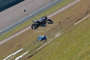 World © Octane Photographic Ltd. Thundersport GB 31st March 2013. The Van Insurer 600 Sportsman Elite. Richard McNeill - McNeill Racing - Suzuki 600F. Digital Ref : 0609ce1d6201