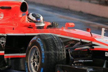 World © Octane Photographic Ltd. Formula 1 Winter testing, Barcelona – Circuit de Catalunya, 28th February 2013. Marussia MR02, Max Chilton. Digital Ref: 0581lw1d6785
