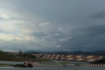 World © Octane Photographic Ltd. Formula 1 Winter testing, Barcelona – Circuit de Catalunya, 28th February 2013. Toro Rosso STR8, Jean-Eric Vergne. Digital Ref: