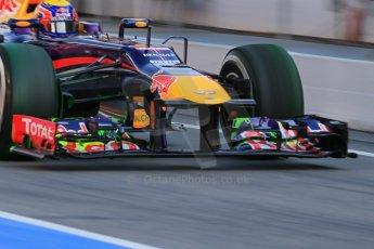 World © Octane Photographic Ltd. Formula 1 Winter testing, Barcelona – Circuit de Catalunya, 2nd March 2013. Infiniti Red Bull Racing RB9. Mark Webber. Digital Ref: 0583lw1d8991