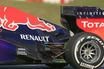 World © Octane Photographic Ltd. Formula 1 Winter testing, Barcelona – Circuit de Catalunya, 2nd March 2013. Infiniti Red Bull Racing RB9. Mark Webber. Digital Ref: 0583lw1d9841