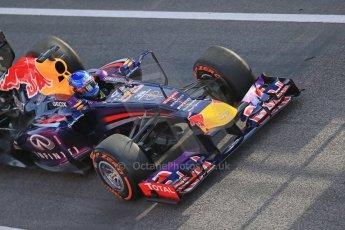World © Octane Photographic Ltd. Formula 1 Winter testing, Barcelona – Circuit de Catalunya, 3rd March 2013. Infiniti Red Bull Racing RB9. Sebastian Vettel. Digital Ref: 0584lw1d0109