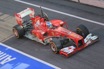 World © Octane Photographic Ltd. Formula 1 Winter testing, Barcelona – Circuit de Catalunya, 3rd March 2013. Ferrari F138 – Fernando Alonso. Digital Ref: 0584lw1d0129