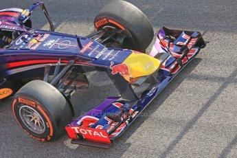 World © Octane Photographic Ltd. Formula 1 Winter testing, Barcelona – Circuit de Catalunya, 3rd March 2013. Infiniti Red Bull Racing RB9. Sebastian Vettel. Digital Ref: 0584lw1d0261