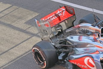 World © Octane Photographic Ltd. Formula 1 Winter testing, Barcelona – Circuit de Catalunya, 3rd March 2013. Vodafone McLaren Mercedes MP4/28. Jenson Button. Digital Ref: 0584lw1d0285