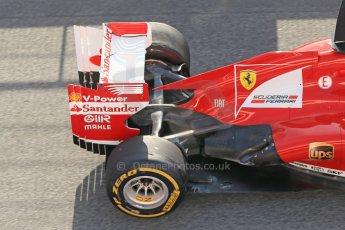 World © Octane Photographic Ltd. Formula 1 Winter testing, Barcelona – Circuit de Catalunya, 3rd March 2013. Ferrari F138 – Fernando Alonso. Digital Ref: 0584lw1d0323
