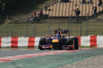 World © Octane Photographic Ltd. Formula 1 Winter testing, Barcelona – Circuit de Catalunya, 3rd March 2013. Infiniti Red Bull Racing RB9. Sebastian Vettel. Digital Ref: 0584lw1d0812