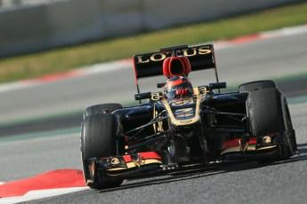 World © Octane Photographic Ltd. Formula 1 Winter testing, Barcelona – Circuit de Catalunya, 3rd March 2013. Lotus E31, Kimi Raikkonen. Digital Ref: 0584lw1d1170