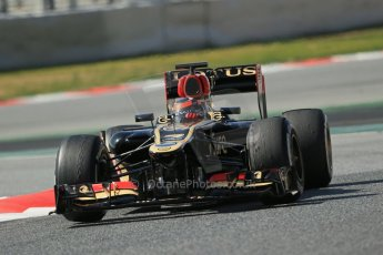 World © Octane Photographic Ltd. Formula 1 Winter testing, Barcelona – Circuit de Catalunya, 3rd March 2013. Lotus E31, Kimi Raikkonen. Digital Ref: 0584lw1d1259