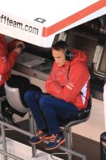 World © Octane Photographic Ltd. Formula 1 Winter testing, Barcelona – Circuit de Catalunya, 3rd March 2013. Marussia Max Chilton. Digital Ref: 0584lw7d0983