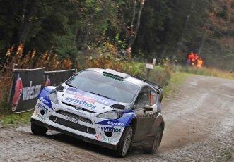 World © Octane Photographic Ltd./Louise Tope. WRC GB 14th November 2013. Digital Ref. : 0874ltd31001