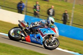 World © Octane Photographic Ltd. World Superbikes (SBK) European GP – Donington Park – Free Practice. Grillini Dentalmatic SBK – BMW S1000RR – Vittorio Iannuzzo. Saturday 25th May 2013. Digital Ref : 0698ce1d3357