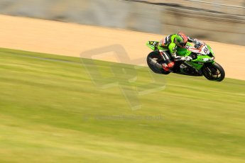 World © Octane Photographic Ltd. World Superbikes (SBK) European GP – Donington Park – Free Practice. Kawasaki Racing Team – Kawasaki ZX-10R – Tom Sykes. Saturday 25th May 2013. Digital Ref : 0698ce1d3553