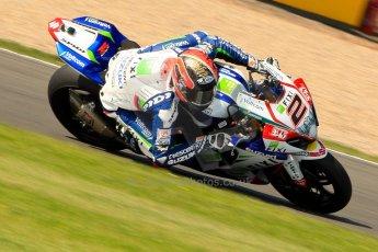 World © Octane Photographic Ltd. World Superbikes (SBK) European GP – Donington Park – Free Practice. Fixi Crescent Suzuki - Suzuki GSX-R-R1000 – Leon Camier. Saturday 25th May 2013. Digital Ref : 0698ce1d3707