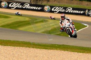 World © Octane Photographic Ltd. World Superbikes (SBK) European GP – Donington Park – Qualifying Practice. Pata Honda World Superbike – Honda CBR-1000RR – Leon Haslam. Saturday 25th May 2013. Digital Ref :