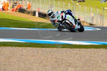 World © Octane Photographic Ltd. World Superbikes (SBK) European GP – Donington Park – Qualifying Practice. Fixi Crescent Suzuki - Suzuki GSX-R-R1000 – Jules Cluzel. Saturday 25th May 2013. Digital Ref :