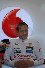 World © Octane Photographic Ltd. Formula 1 - Young Driver Test - Silverstone. Friday 19th July 2013. Day 3. Vodafone McLaren Mercedes MP4/28 – Gary Paffett. Digital Ref: 0755lw1d9772