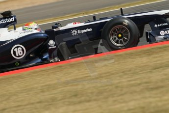 World © Octane Photographic Ltd. Formula 1 - Young Driver Test - Silverstone. Thursday 18th July 2013. Day 2. Williams FW35 - Pastor Maldonado. Digital Ref : 0753lw1d6220