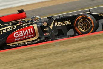 World © Octane Photographic Ltd. Formula 1 - Young Driver Test - Silverstone. Thursday 18th July 2013. Day 2. Lotus F1 Team E21 - Davide Valsecchi. Digital Ref : 0753lw1d6276