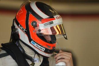 World © Octane Photographic Ltd. Formula 1 - Young Driver Test - Silverstone. Thursday 18th July 2013. Day 2. Sauber C32 - Nico Hülkenberg. Digital Ref : 0753lw1d6506