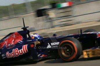 World © Octane Photographic Ltd. Formula 1 - Young Driver Test - Silverstone. Thursday 18th July 2013. Day 2. Scuderia Toro Rosso STR8 - Daniel Ricciardo. Digital Ref : 0753lw1d9047