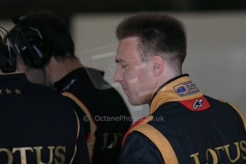 World © Octane Photographic Ltd. Formula 1 - Young Driver Test - Silverstone. Thursday 18th July 2013. Day 2. Lotus F1 Team E21 - Davide Valsecchi. Digital Ref : 0753lw1d9053