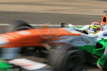 World © Octane Photographic Ltd. Formula 1 - Young Driver Test - Silverstone. Thursday 18th July 2013. Day 2. Sahara Force India VJM06  - James Calado. Digital Ref : 0753lw1d9151