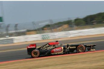 World © Octane Photographic Ltd. Formula 1 - Young Driver Test - Silverstone. Thursday 18th July 2013. Day 2. Lotus F1 Team E21 - Davide Valsecchi. Digital Ref : 0753lw1d9289