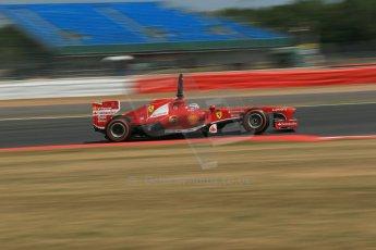 World © Octane Photographic Ltd. Formula 1 - Young Driver Test - Silverstone. Thursday 18th July 2013. Day 2. Scuderia Ferrari F138 - Davide Rigon. Digital Ref : 0753lw1d9438