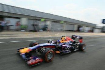 World © Octane Photographic Ltd. Formula 1 - Young Driver Test - Silverstone. Thursday 18th July 2013. Day 2. Infiniti Red Bull Racing RB9 - Daniel Ricciardo. Digital Ref : 0753lw1d9616