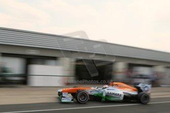 World © Octane Photographic Ltd. Formula 1 - Young Driver Test - Silverstone. Thursday 18th July 2013. Day 2. Sahara Force India VJM06  -  Paul Di Resta. Digital Ref : 0753lw1d9665