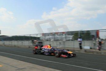 World © Octane Photographic Ltd. Formula 1 - Young Driver Test - Silverstone. Thursday 18th July 2013. Day 2. Infiniti Red Bull Racing RB9 - Daniel Ricciardo. Digital Ref : 0753lw1d9704