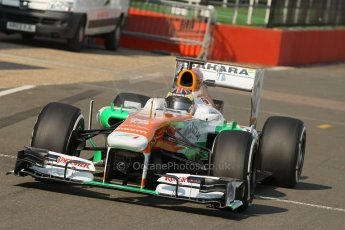 World © Octane Photographic Ltd. Formula 1 - Young Driver Test - Silverstone. Wednesday 17th July 2013. Day 1. Sahara Force India VJM06 - James Calado. Digital Ref : 0752lw1d5723