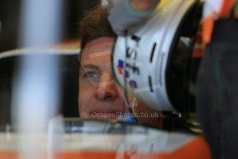 World © Octane Photographic Ltd. Formula 1 - Young Driver Test - Silverstone. Wednesday 17th July 2013. Day 1. Sahara Force India VJM06 - James Calado. Digital Ref : 0752lw1d8603