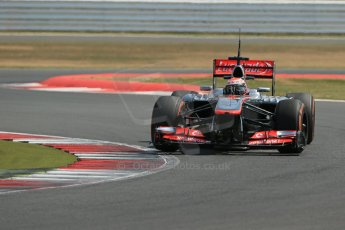 World © Octane Photographic Ltd. Formula 1 - Young Driver Test - Silverstone. Wednesday 17th July 2013. Day 1. Vodafone McLaren Mercedes MP4/28 - Kevin Magnussen. Digital Ref : 0752lw1d8644