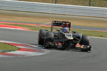 World © Octane Photographic Ltd. Formula 1 - Young Driver Test - Silverstone. Wednesday 17th July 2013. Day 1. Lotus F1 Team E21 - Nicolas Prost. Digital Ref : 0752lw1d8664