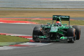 World © Octane Photographic Ltd. Formula 1 - Young Driver Test - Silverstone. Wednesday 17th July 2013. Day 1. Caterham F1 Team CT03 - Alex Rossi. Digital Ref : 0752lw1d8710