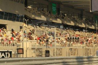 World © Octane Photographic Ltd. 2014 Formula 1 Abu Dhabi Grand Prix, F1 Qualifying, Saturday 22nd November 2014. Digital Ref : 1166CB1D8150