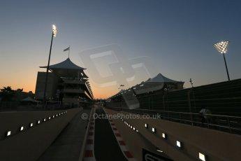 World © Octane Photographic Ltd. Saturday 22nd November 2014. Abu Dhabi Grand Prix - Yas Marina Circuit - Formula 1 Qualifying pit lane. Digital Ref: 1166LB1D6071