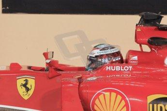 World © Octane Photographic Ltd. 2014 Formula 1 Abu Dhabi Grand Prix, F1 Qualifying, Saturday 22nd November 2014. Scuderia Ferrari - Fernando Alonso. Digital Ref : 1166LW1L8362