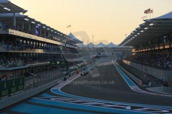 World © Octane Photographic Ltd. Sunday 23rd November 2014. Abu Dhabi Grand Prix - Yas Marina Circuit - Formula 1 Race. Digital Ref: