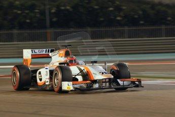 World © Octane Photographic Ltd. 2014 Formula 1 Abu Dhabi Grand Prix, GP2 Qualifying, Friday 21st November 2014. Daniel de Jong - MP Motorsport. Digital Ref : 1162CB1D7368