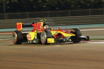 World © Octane Photographic Ltd. 2014 Formula 1 Abu Dhabi Grand Prix, GP2 Qualifying, Friday 21st November 2014. Stefano Coletti - Racing Engineering. Digital Ref : 1162CB1D7389